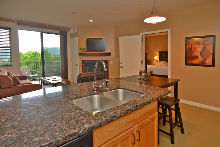 Beautiful Condo with Amenities 2038 - Heber City - Apartemen