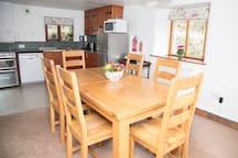 Lakeland slate kitchen  and dining area