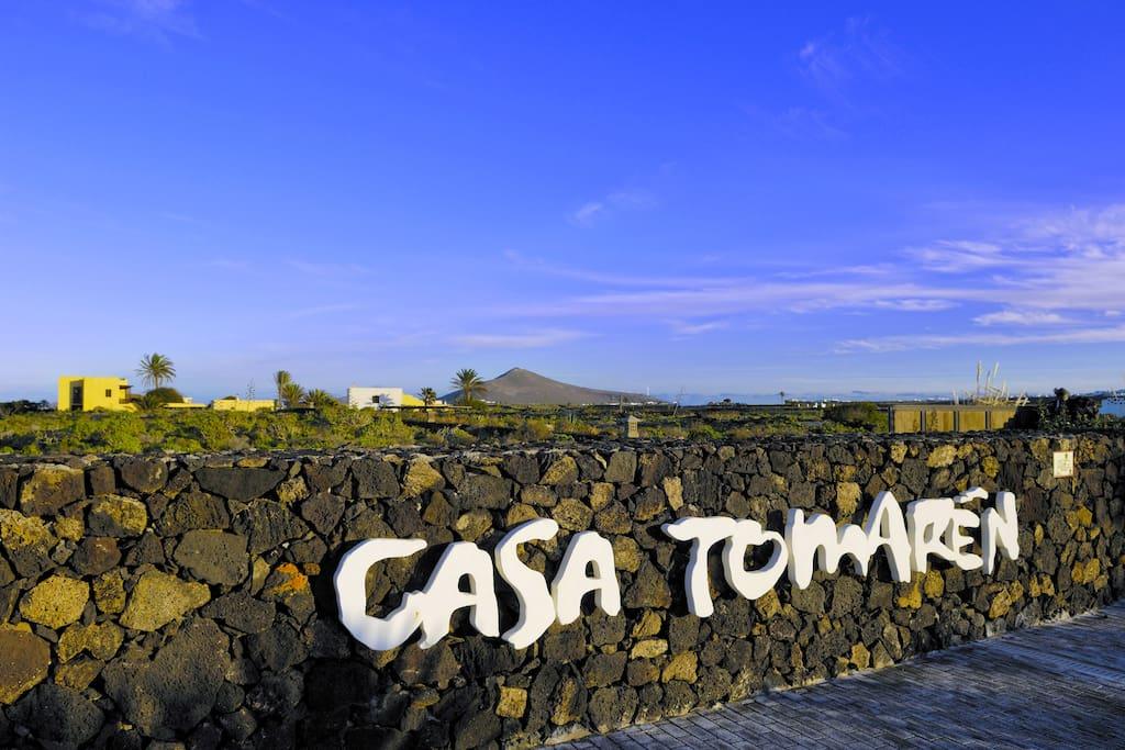 Casa Tomaren main entrance