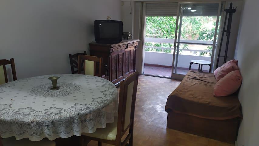Departamento 1 dormitorio para 3/4 personas