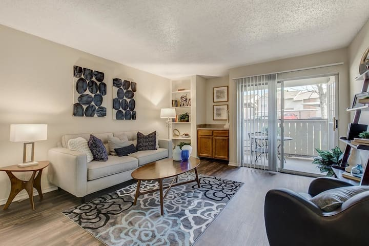 Rest easy and live life | 1BR in Irving