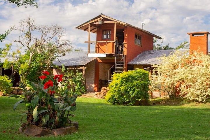 Habitación en Posada Uguay - Esteros del Iberá