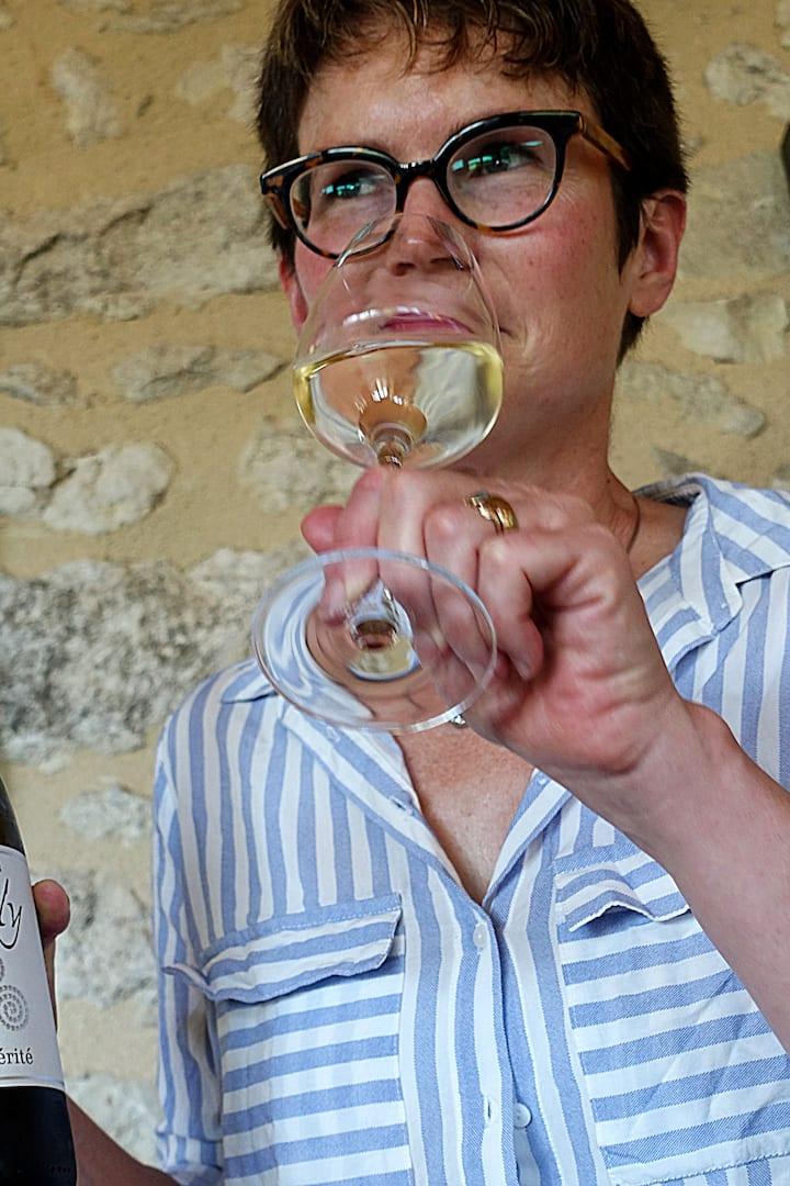 Learn professional wine-tasting