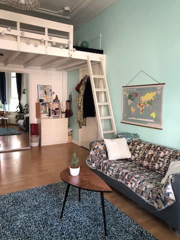 Stylish cosy loft in central Nijmegen