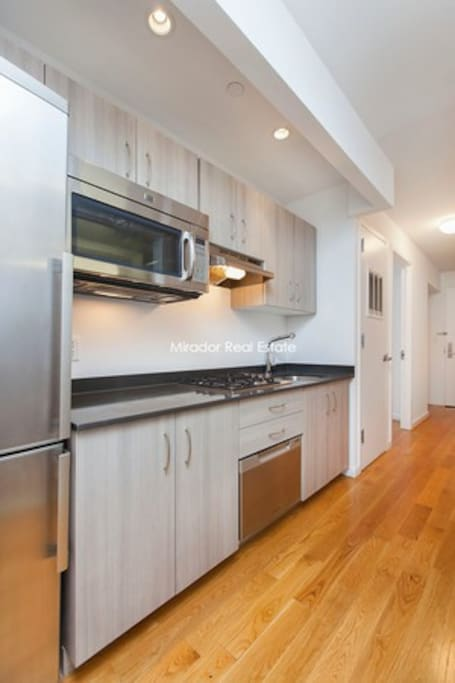 Fully renovated kitchen, WASHER/DRYER next to it