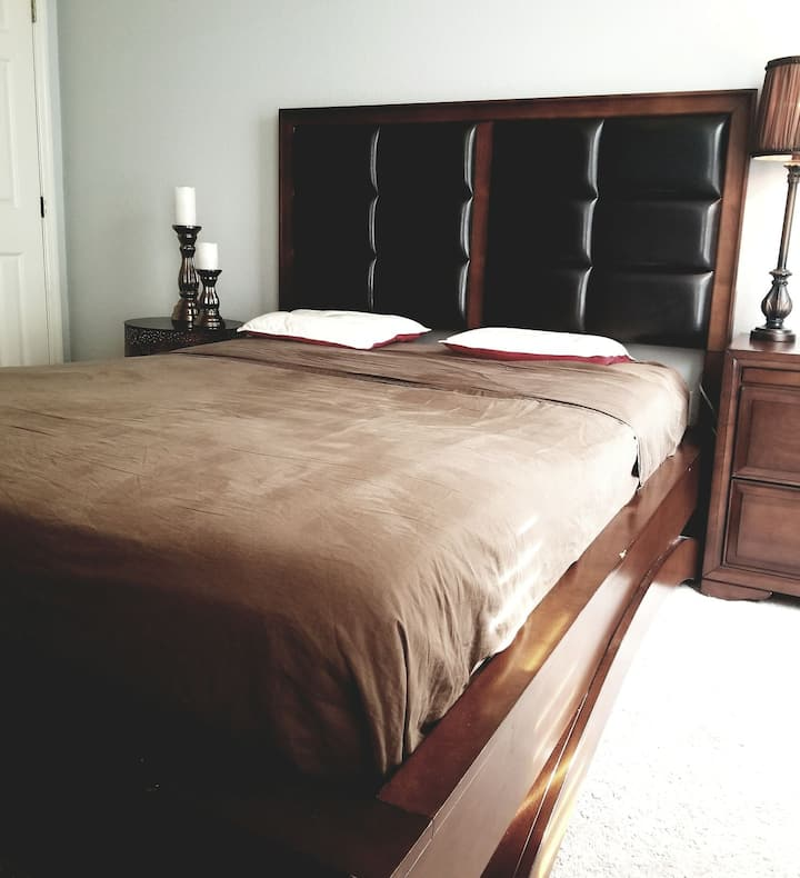 hermosa habitación para uno u dos personas.