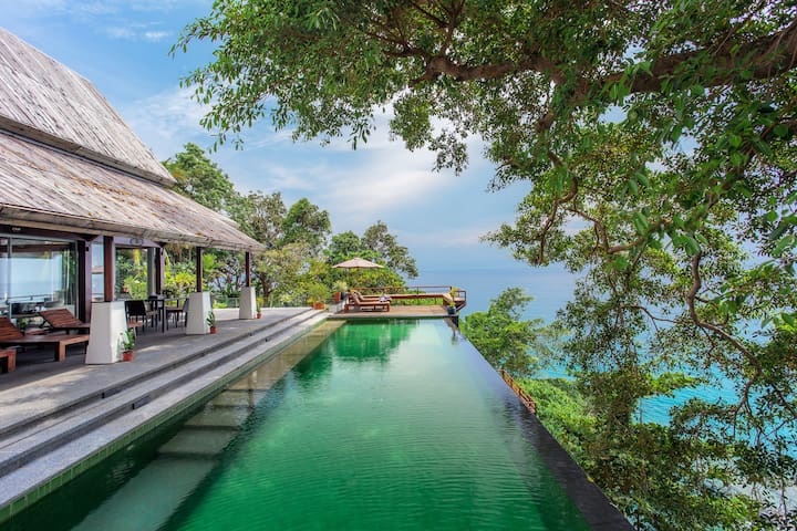 Luxury Oceanfront villa at Surin Beach in Phuket