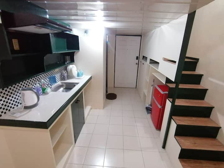 LOFT for two 15 mins walk BGC. 3 months min. stay.