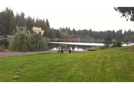 Lakefront home surrounded by nature - Stanwood
