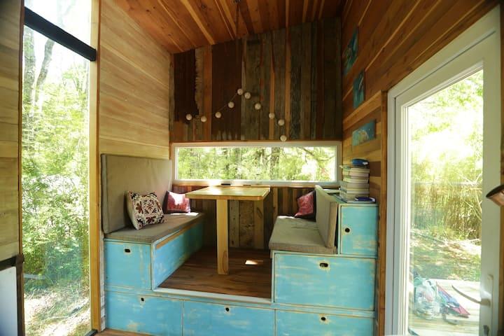 Vive la experiencia de estar en una Tiny House!