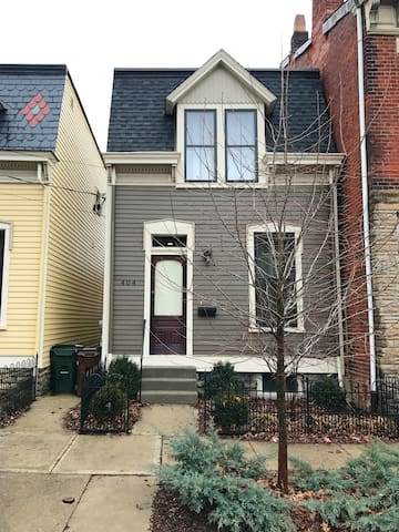 Updated Row House in Historic Newport