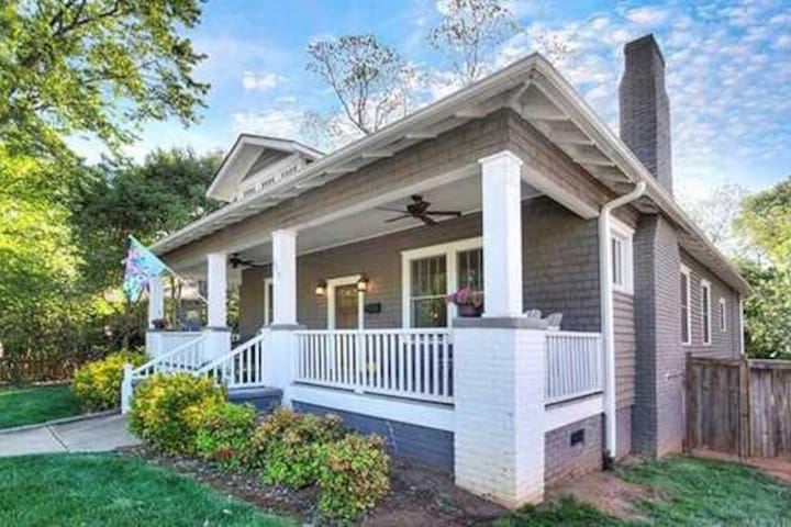 Charming home, historic district, walk to the city