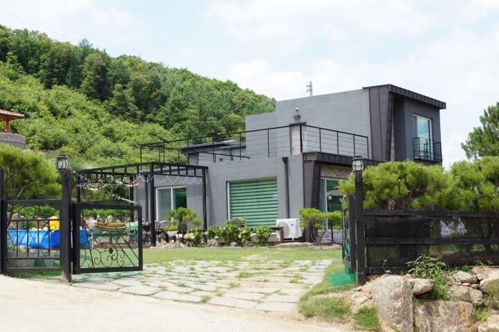 양평애견동반독채펜션(도그엔조이)-1층독채