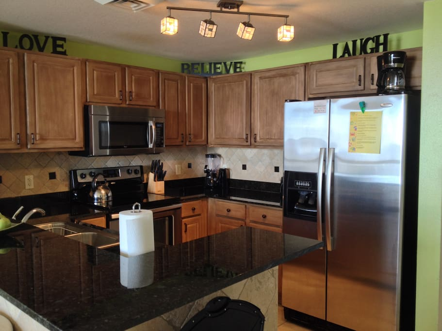 Kitchen will all the amenities of home.