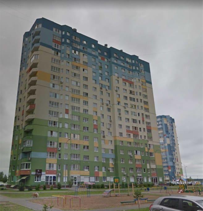 Новый дом, в престижном районе