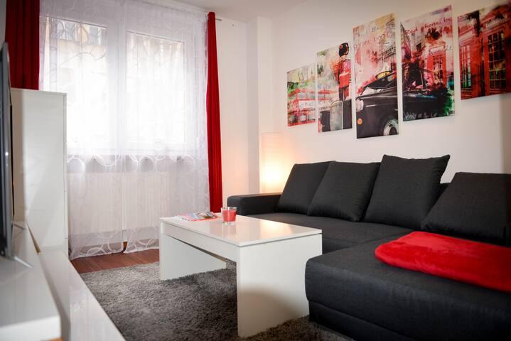 Sehr zentrale,gemütliche & ruhige 2-Zimmer-Wohnung