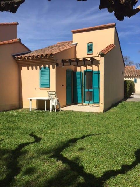 Maisonnette  eau turquoise