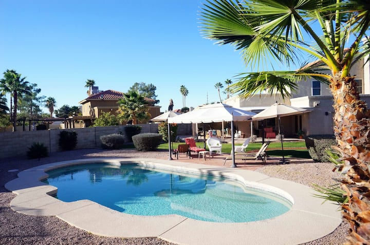 Scottsdale Luxury Private Room Pool BBQ Wifi