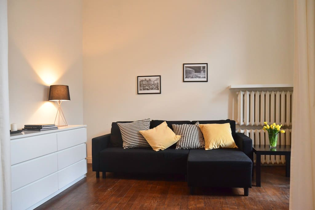 Bedroom no 2 with sleeping sofa (for 2 persons)
