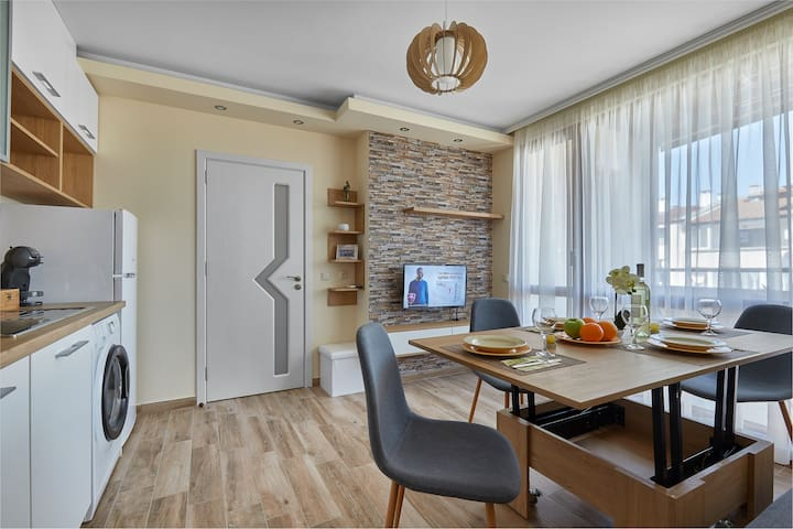 ROMANCE APARTMENT # BURGAS CENTER # BRAND NEW