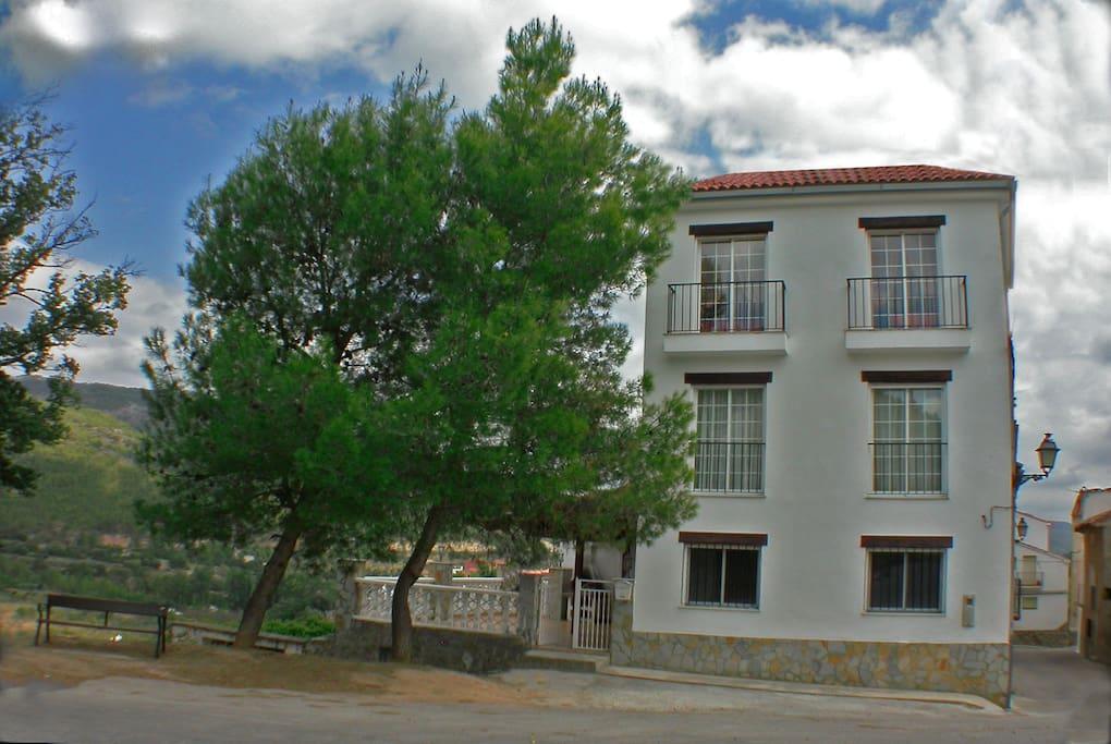 Fachada Casa Rosaire