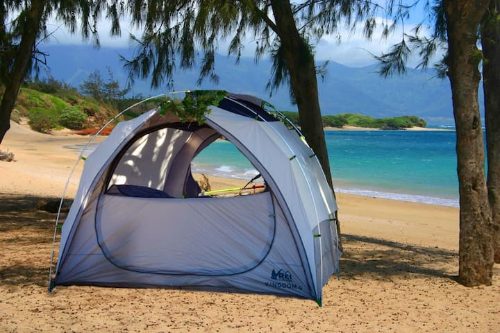 Complete Camping Gear on Maui for 2