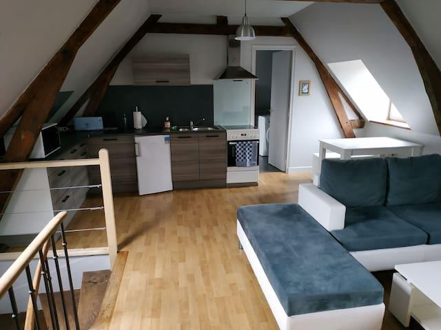 Appartement 4p proche de la mer
