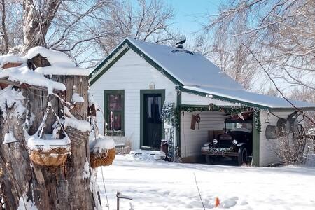 Cottage Homestead Built 1914 on Wilson Farmstead