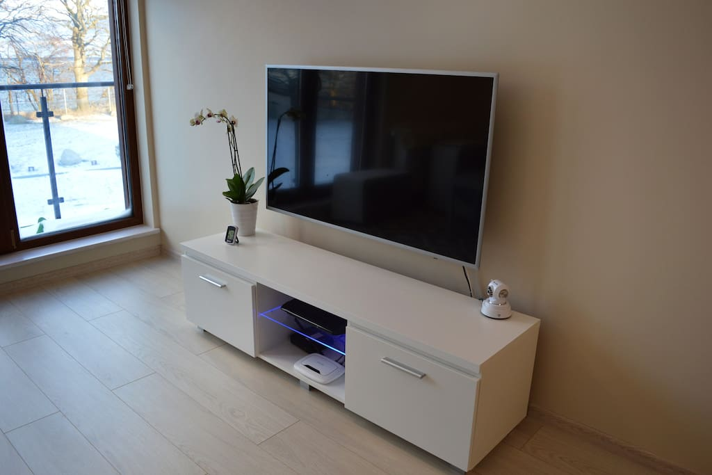 TV w salonie
