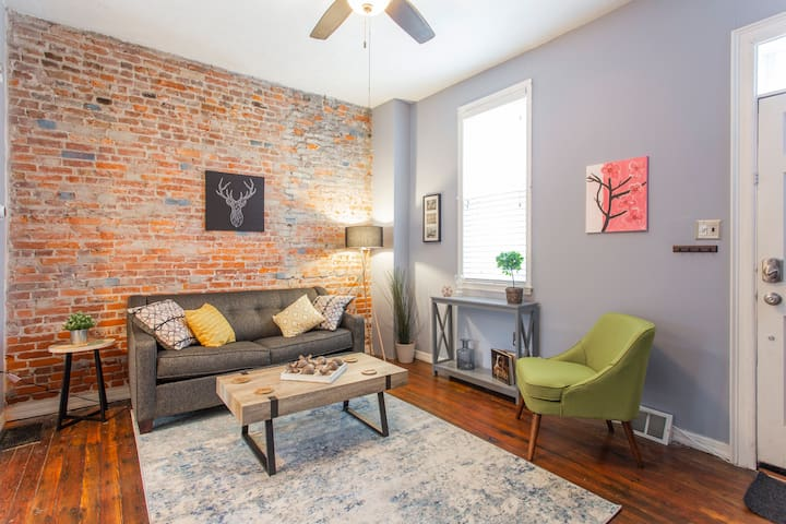 Fairmount GEM with Patio in the ❤️ of it all