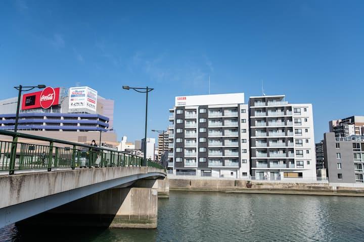 1 min walk from Canal City Hakata/MAX5ppl