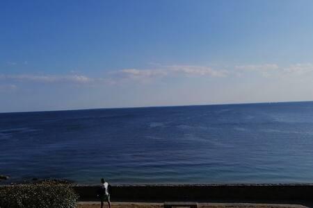 Chambre au calme à proximité des plages, terrasse