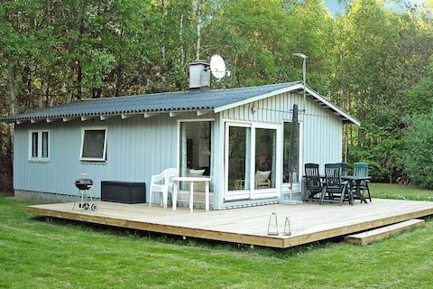 Delightful Holiday Home in Hadsund Denmark with Terrace