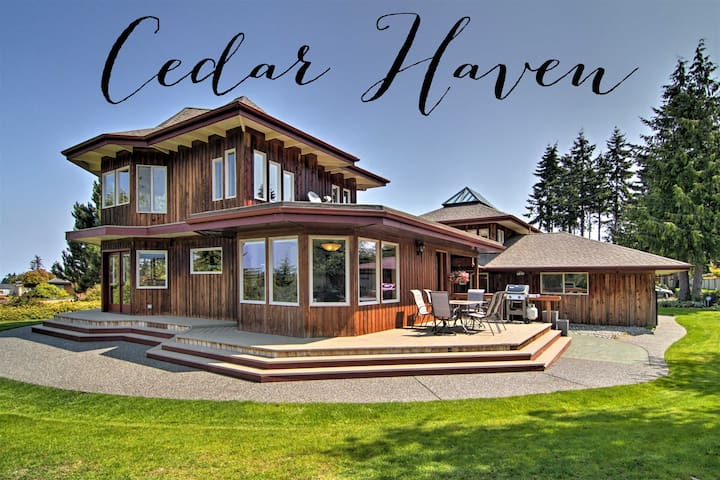 Gorgeous Custom Home with Water and Mountain Views
