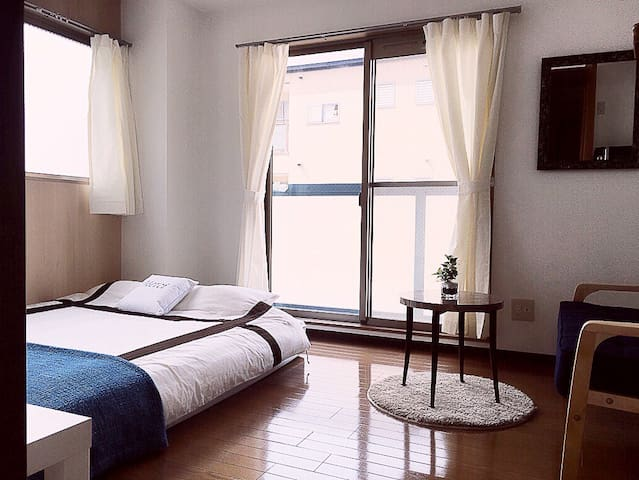 Namba!5min!New Open!Free pocket WI-FI^^ - 大阪市 - Apartamento