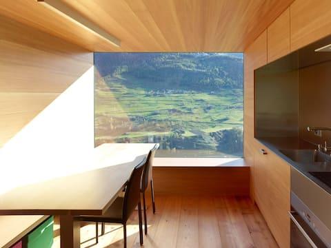 Chalet design dans un cadre idyllique