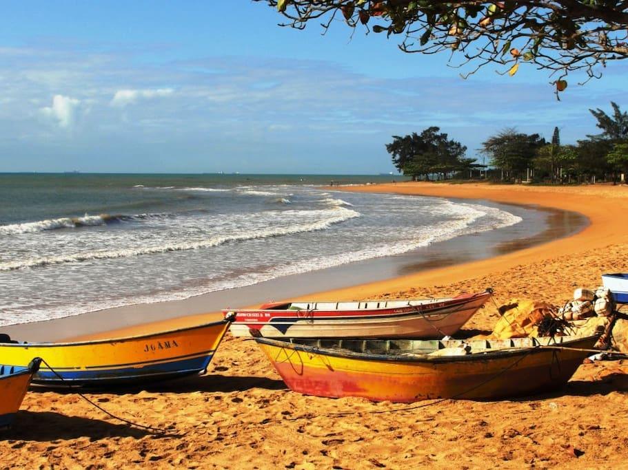 Praia de Manguinhos ES