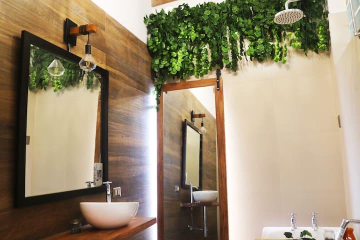 Baño privado con tina