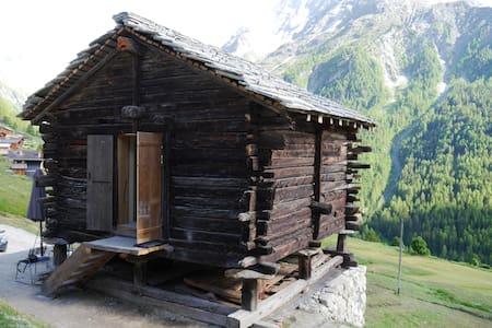 mayen à Henri, Val d'Hérens, Valais, Sion, Suisse - Evolène