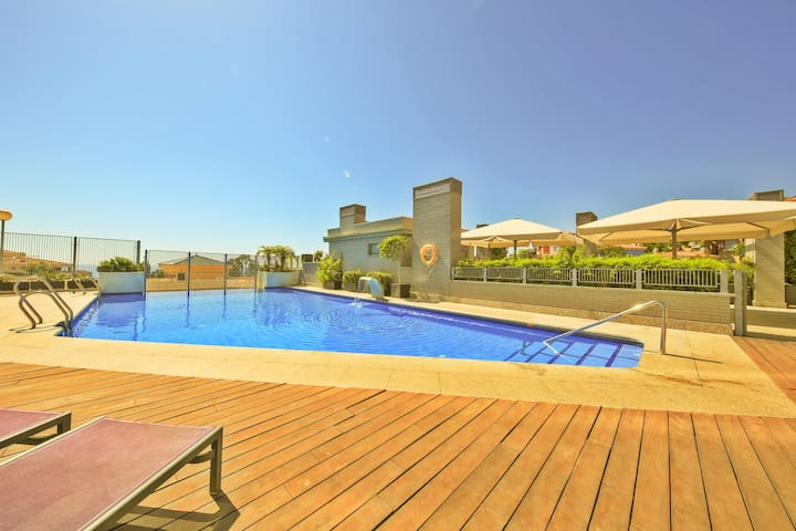 Modern 2 bedroom apartment close to the beach - Benalmádena - Byt
