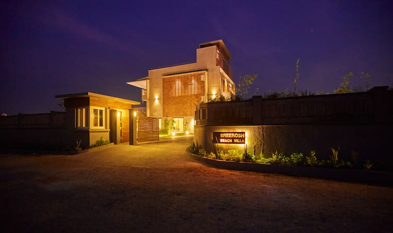 Exclusive Beach Villa @ ECR, Chennai.