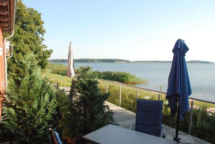 Ferienwohnung mit eigenem Strandzugang auf Rügen