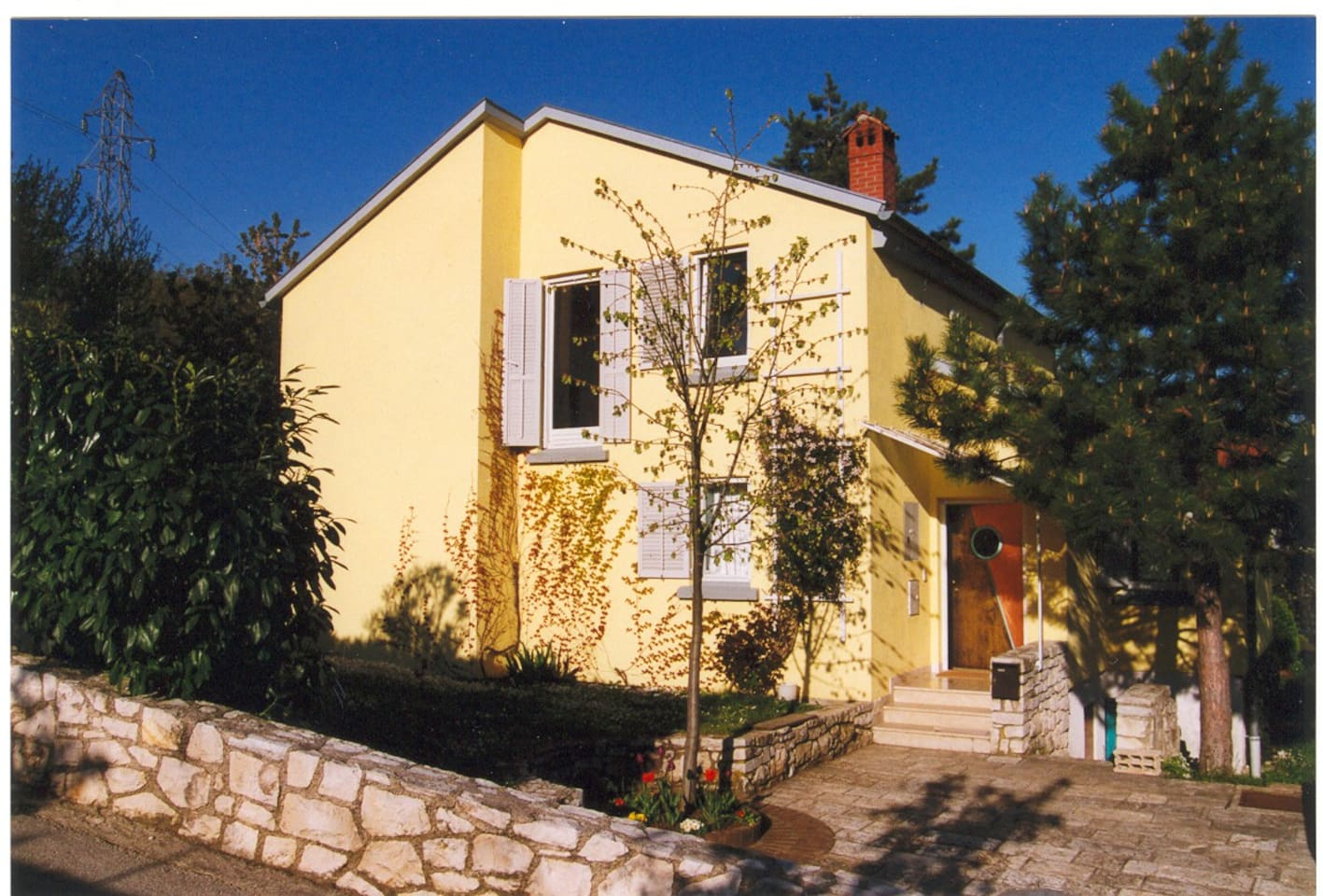 Our beautiful house on the hill of Kapelica