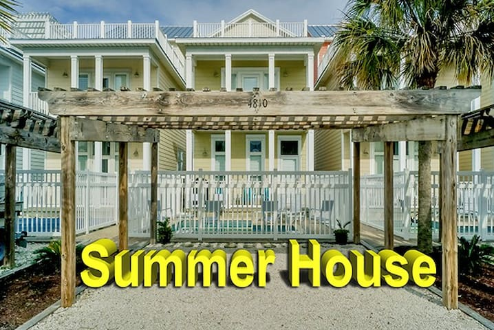 Summer House Beach House - Panama City - Casa