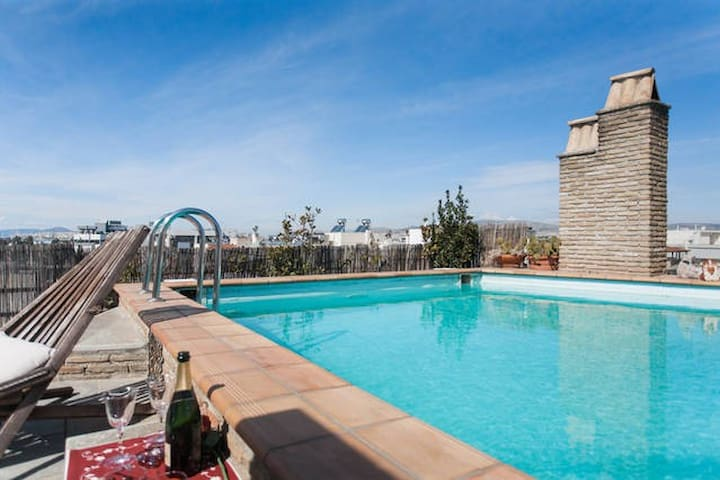 Luxury New Apartment with pool ! - Paleo Faliro - Appartement