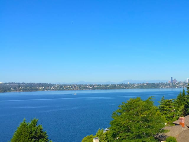 Stunning Lake View Suite between Seattle, Bellevue - Mercer Island - Appartement