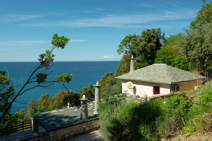 "Pelionbnb.3 VILLA MANOLIA | ""private"" beach @Pilio"