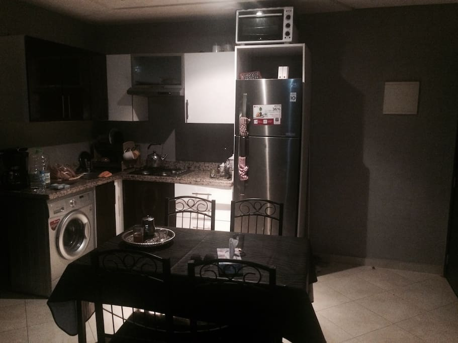 The kitchenette! The place of many conversations :)