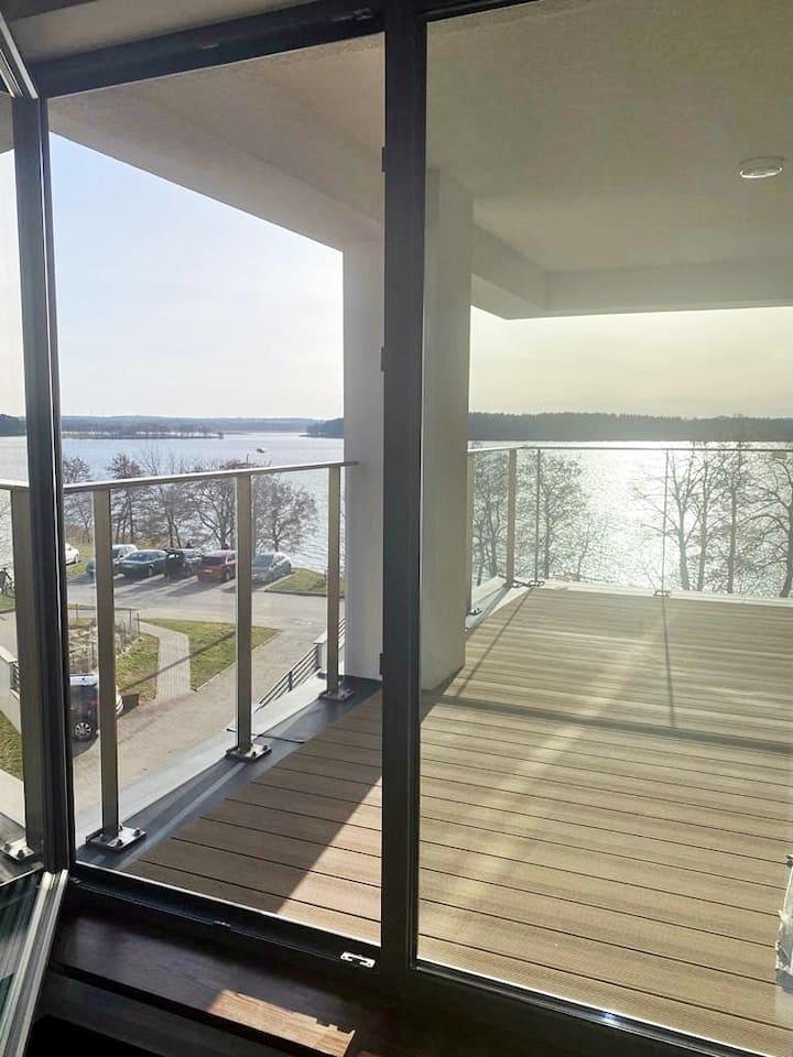 Apartament 3 pokoje...widok na jezioro Ełckie