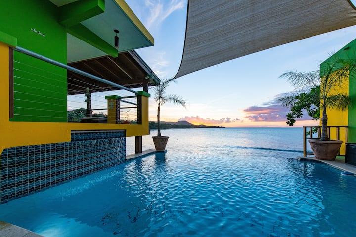Villa Dos Palmas - Pool Villa - 2 Bedroom Oceanfront with Pool